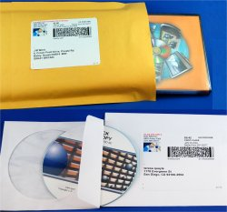 Shipping in bubble mailers or thin envelopes are our most popular choices.