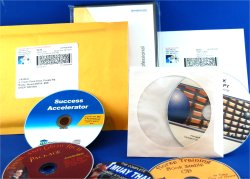 Package CDs or DVDs in dvd cases, or sleeves, and ship them in envelopes or bubble mailers.